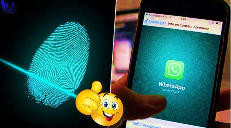 Lock Your WhatsApp Chats With Fingerprint - techurdu.net