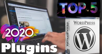 These are the Top 5 WordPress FREE Plugins to use in 2020 - techurdu.net