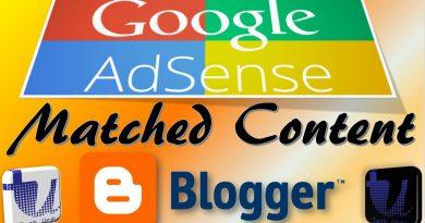 Google AdSense Matched Content for Blogger/BlogSpot/Websites (Step-by-Step) - techurdu.net