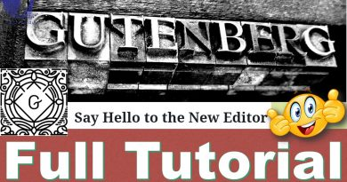 Gutenberg Editor (WordPress 5.0 & Above) | The Ultimate Tutorial - techurdu.net