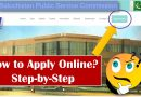 How to Apply Online on BPSC (Balochistan Public Service Commission) for Posts? - techurdu.net