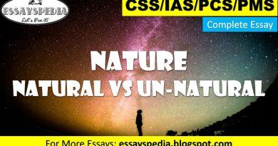 Universe - Natural Vs Unnatural - techurdu.net