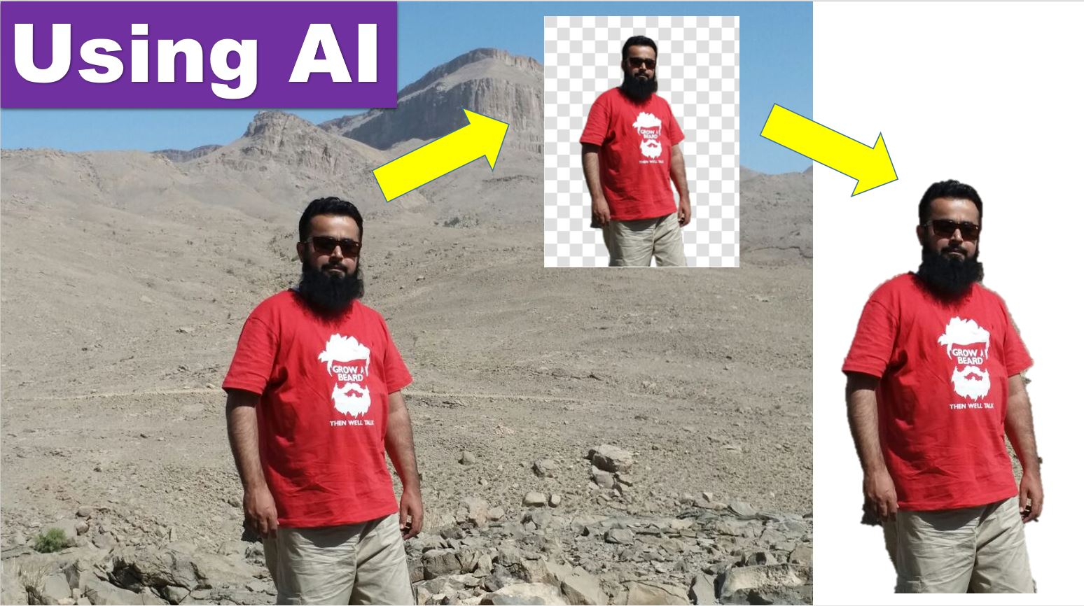 Using AI – Remove Image Background in Just 5 Seconds