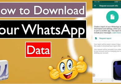 Here is how to Download Your WhatsApp Data Report - techurdu.net