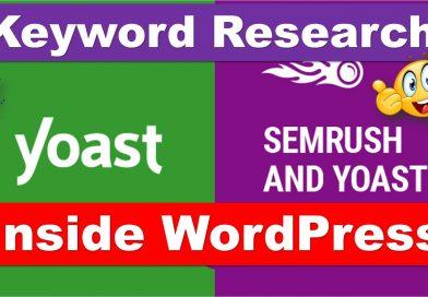 Keyword Research Made Easy - Yoast and SEMrush Integration - techurdu.net