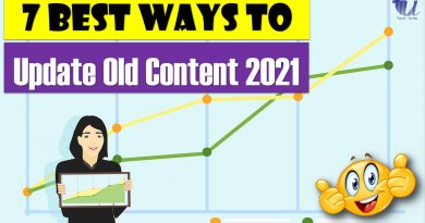 7 Best Ways to Update Your Old Content in 2021 - techurdu.net